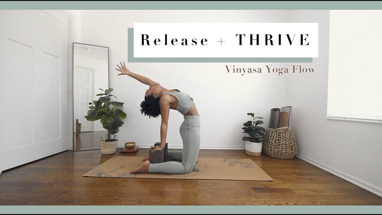 20 Min Vinyasa Flow to Release and THRIVE  Bright and Salted Yoga