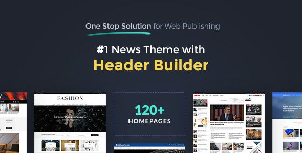 JNews v1.2.2 - One Stop Solution for Web Publishing