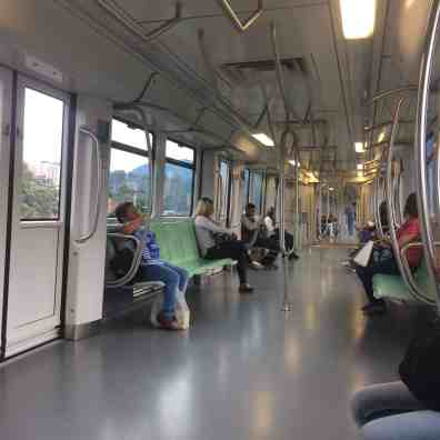 Metro in Medellin, must see Colombia