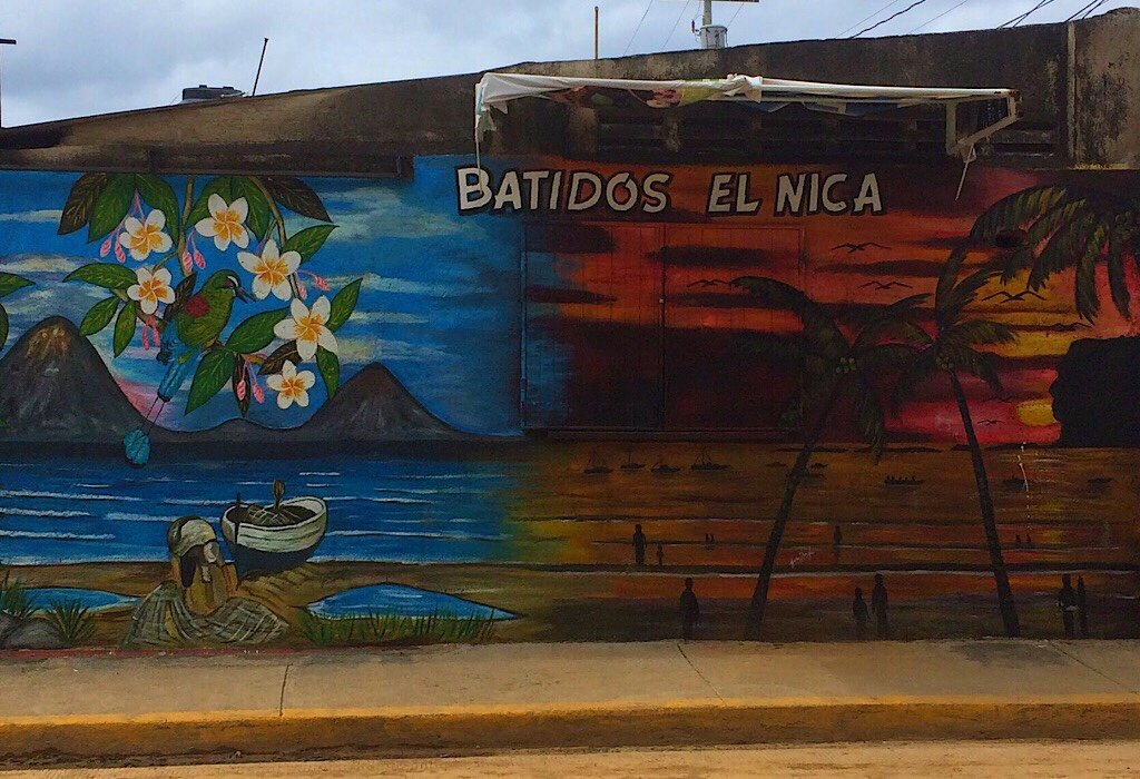 Street art in San Juan del Sur