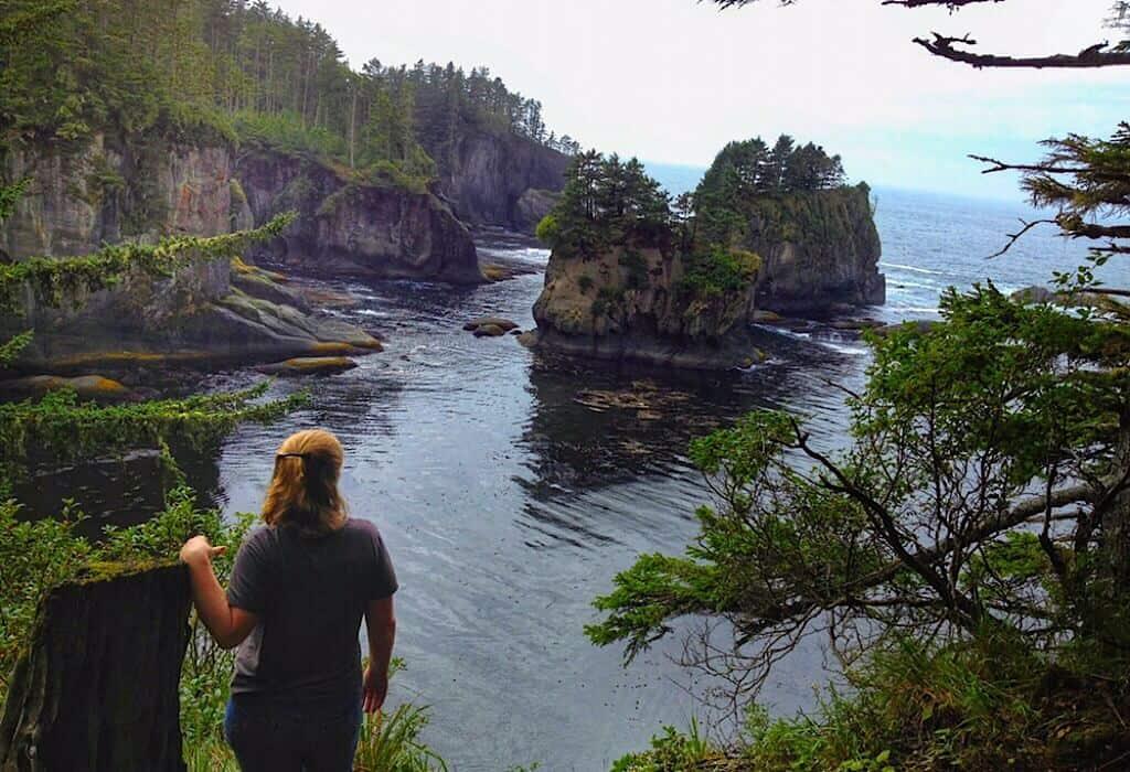 A bay in Washington State