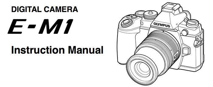 Olympus updates E-M1 manual with new firmware update