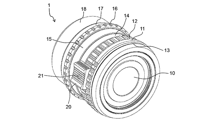 Panasonic patent discloses MFT lens design with focus grip