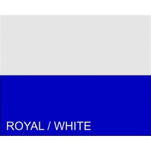 Royal Blue and White Corner Flag