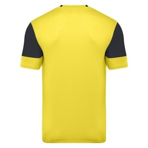 Vier ss jersey - yellow / carbon back