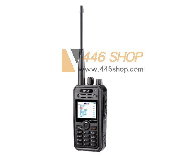 KST KST UV-F1000 Dual Band Display Handheld Walkie Talkie