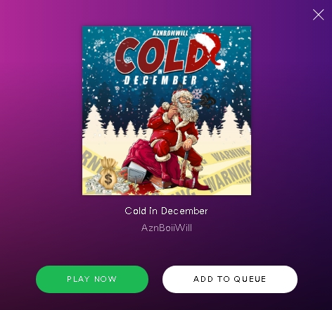AznBoiiWill - Cold In December - Spotify
