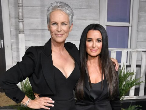 Kyle Richards & Jamie Lee Curtis