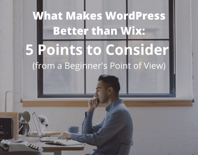 Wordpress better than wix
