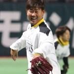 ホークス松坂投手、古巣相手に初登板!
