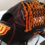 """【ベースボールセレクト】6/3のPick up:ウィルソン 限定 外野手用グラブ """"WTAHWDD8F""""!!"""