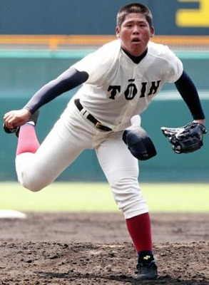 大阪桐蔭 澤田投手 SSK