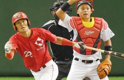 日本生命 椎名選手(毎日新聞様)