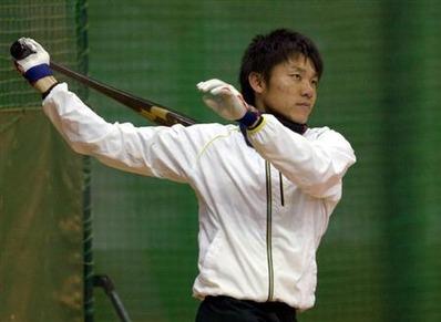 中日 大島選手 SSK