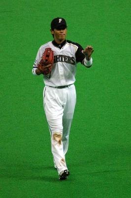 日本ハム 稲葉選手 ナイキ
