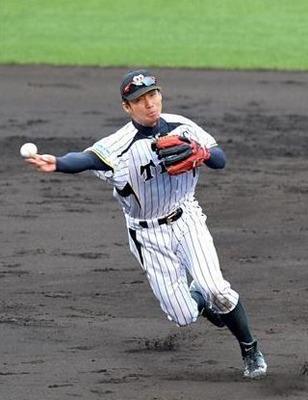 阪神タイガース 鳥谷選手 グローブ 2