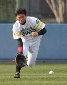 ソフトバンク 安田選手 ザナックススパイク