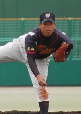 えひめ西シニア 澤田投手 ザナックス