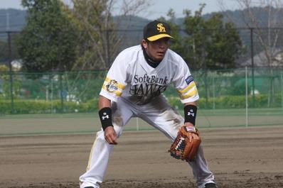 ソフトバンクホークス 松田選手 久保田スラッガー