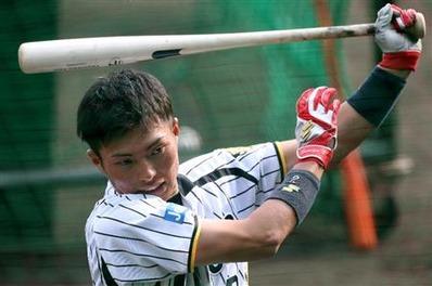 阪神タイガース 北條選手 SSK