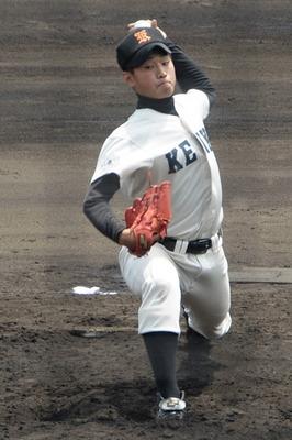 広島工業 石田健太投手 SSK