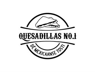 Name: Quesadillas No.1 Slogan: Dé Mexicaanse Tosti logo