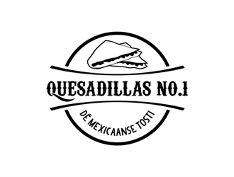 Name: Quesadillas No.1 Slogan: Dé Mexicaanse Tosti logo