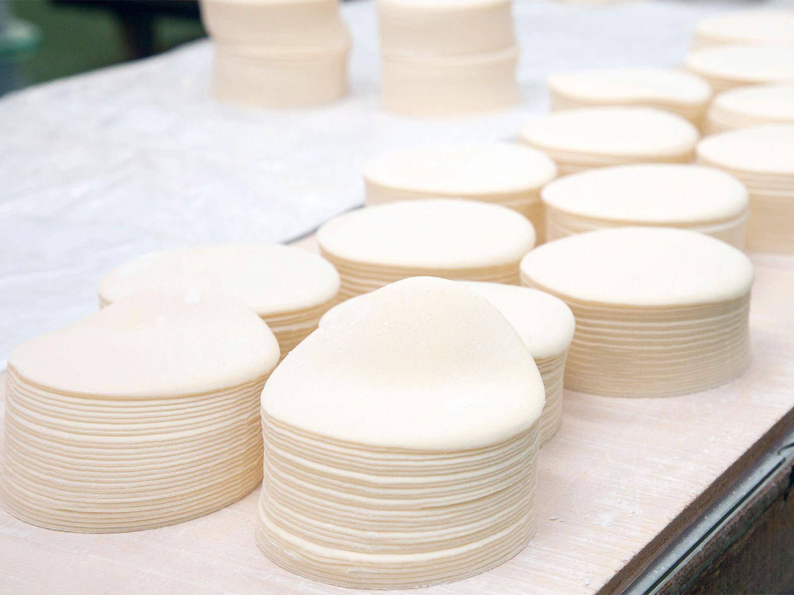 餃子 シュウマイ ワンタンの皮 大きさ/厚さ各種品揃え