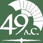 49aC logo bianco