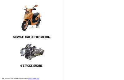 Scooter Service And Repair Manuals