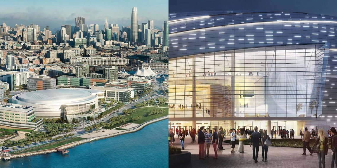 Chase Center Arena Renderings. Photo: Chase Center, Facebook.