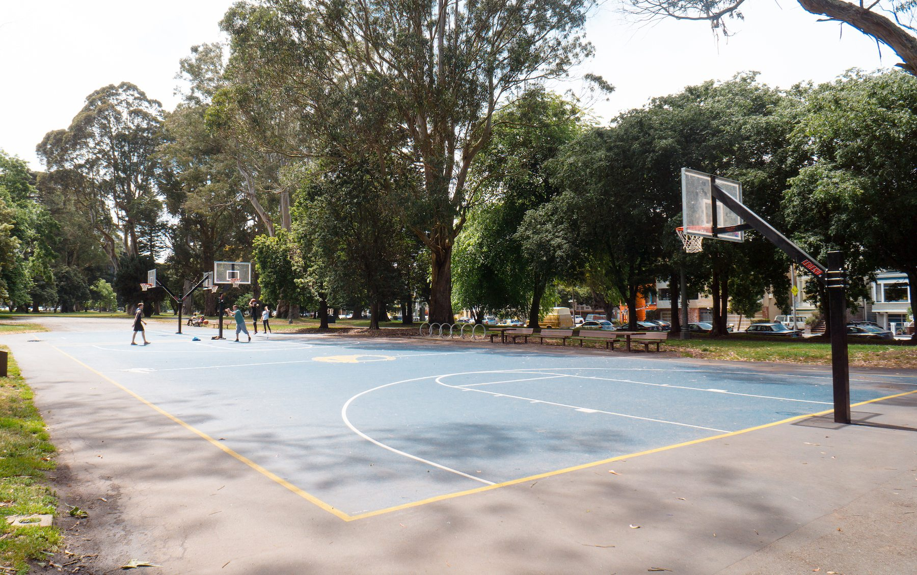 Basketball Courts at Panhandle. Photo: Justin Wong, 49miles.com.
