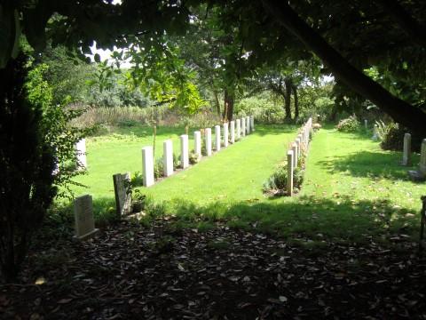 49 Squadron Association Manby Cemetery Lincolnshire