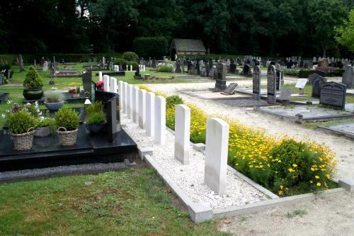 49 Squadron Association Westerbork Cemetery