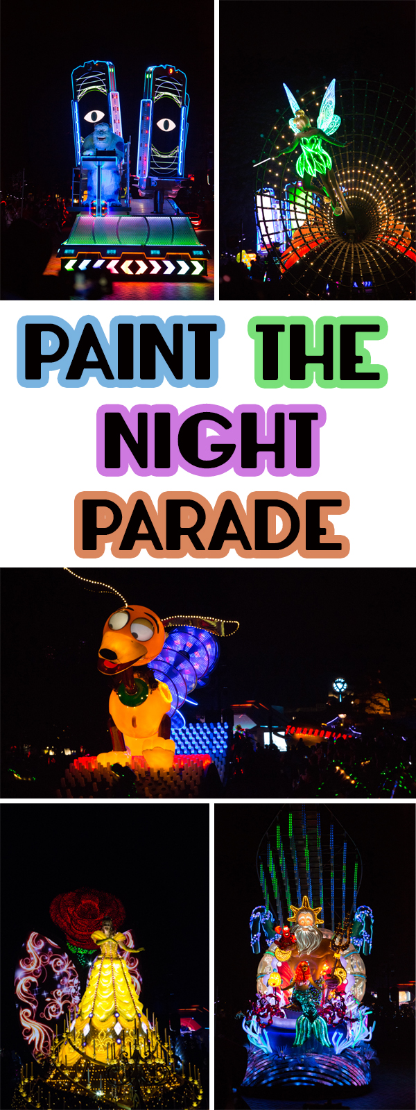 Everything you need to know about the Paint the Night Parade at Hong Kong Disneyland