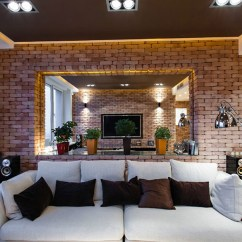 New York Loft Style Living Room Ideas With Corner Fireplace Stylish Laconic And Functional Interior Design Bedroom Apartment Hallway