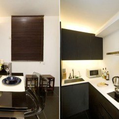 Small Kitchen White Cabinets Remodeling On A Budget Chic And Apartment Interior Design In Hong Kong