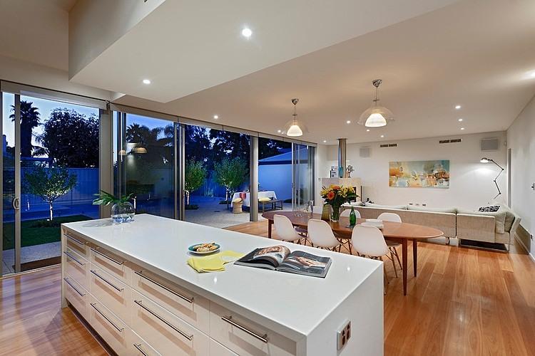 Open Floor Plan House Interior Design Located In Sunny Australia