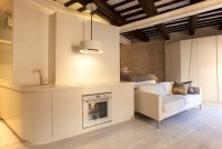 Small Studio Apartment Interior Design in Rome