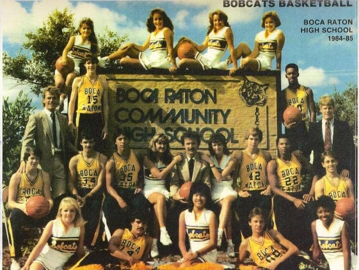 Boca High Basketball Team 1984-85