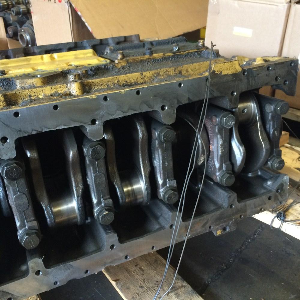 medium resolution of 5 block for caterpillar 3306 engine