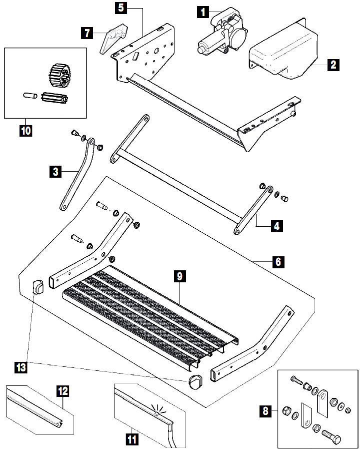 Thule Omni-Step 12V V02 Parts