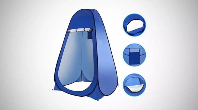 tente toilette camping