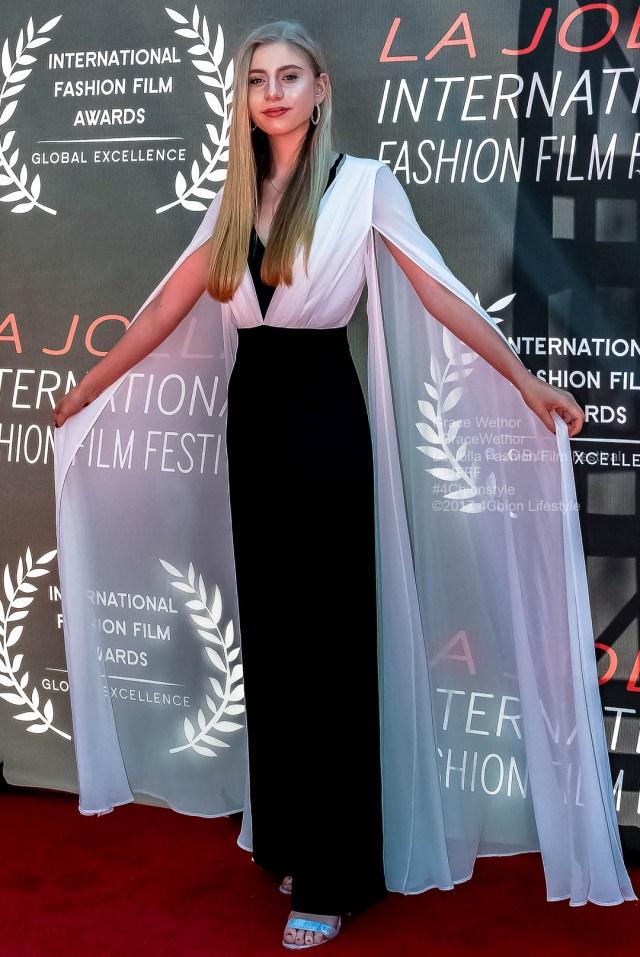 Grace Wethor Vogue La Jolla Fashion Film Festival Red Carpet Tammy Forchion LJFFF 4Chion Lifestyle