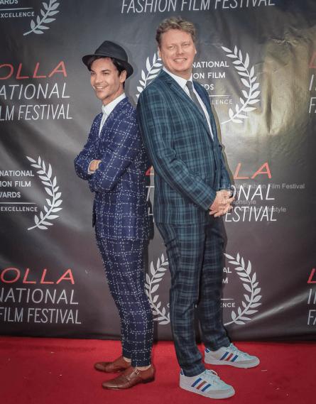 Robots Directors La Jolla Fashion Film Festival Red Carpet 4Chion Lifestyle