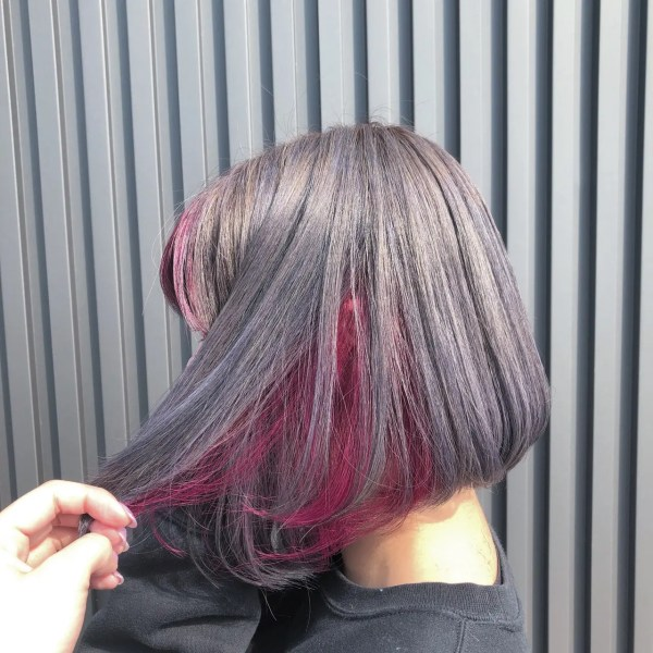 【インナーカラーピンク】デザイン写真30選!きっとお気に入りが見つかるよ。