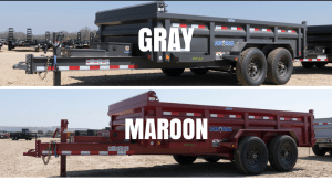 Load Trail Colour Options Gray Grey Maroon Primer Standard Always