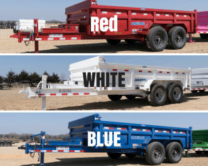 Load Trail Colour Options Red White Blue Primer Standard Always