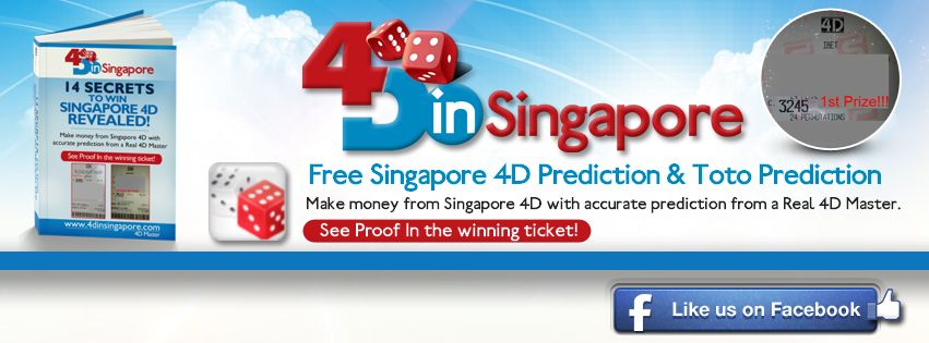 4DinSingapore Facebook - Like Us