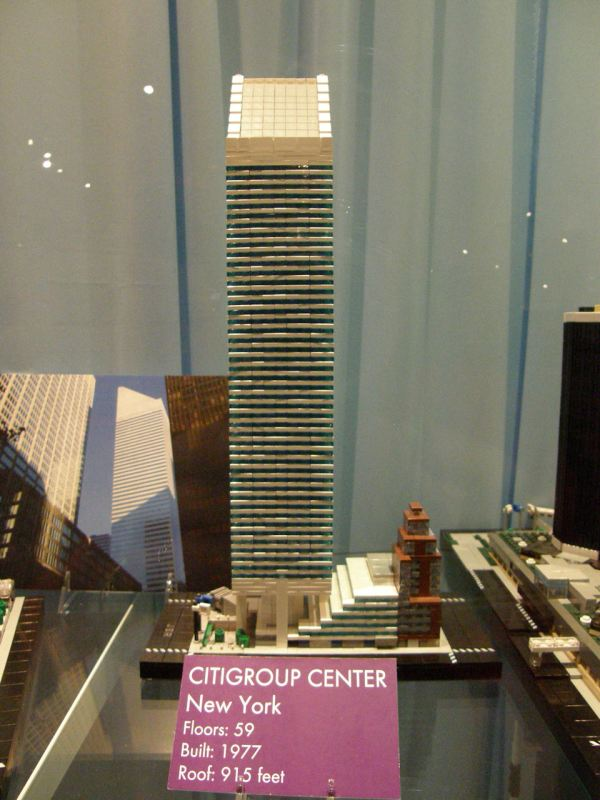 LEGO Exhibit New York City